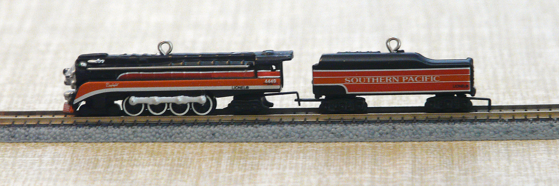 Southern Pacific Railroad Train Car Christmas Ornament
